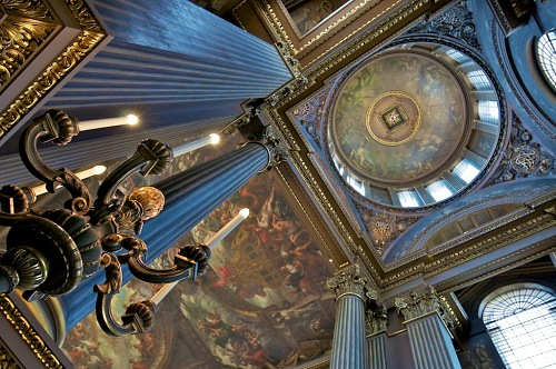 The Painted Hall by Henry Stuart
