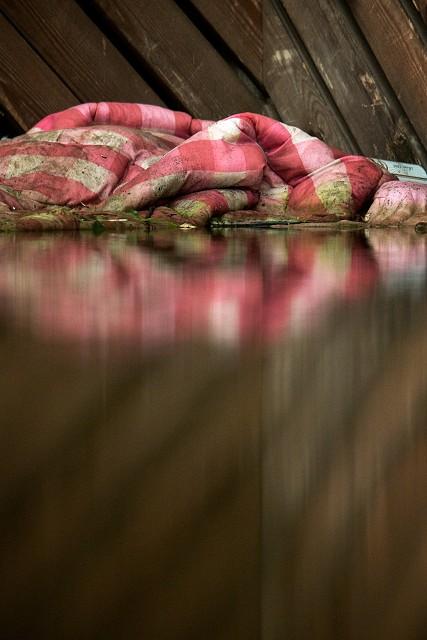 Duvet Dump by Chris Beach