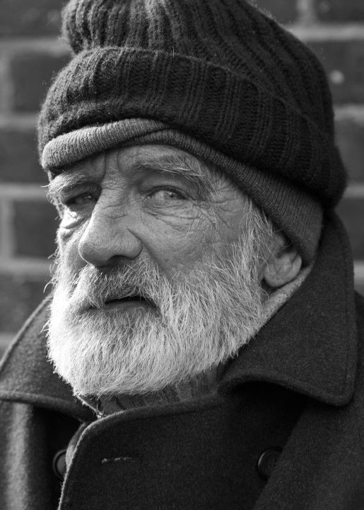 'Old Man in B&W' by Jozer Calara