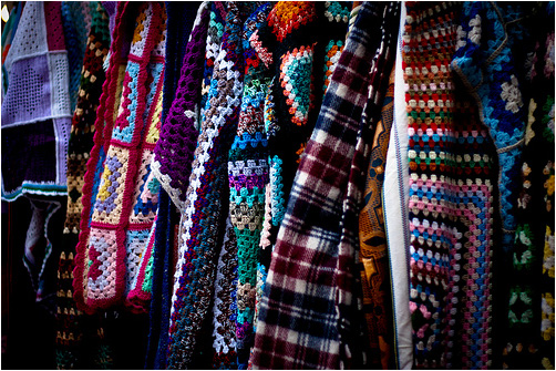 Colourful Knitwear by Ken Taylor